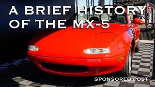 A Brief History of the Mazda MX-5 Miata