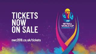 Netball World Cup 2019 -  Now On Sale