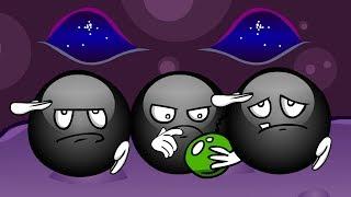 Кто эти черные шарики? Черный шарик попал в другой мир