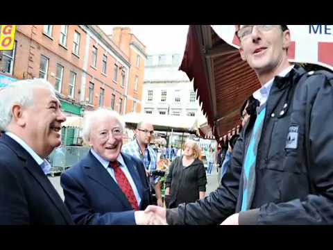 Michael D Higgins through the years