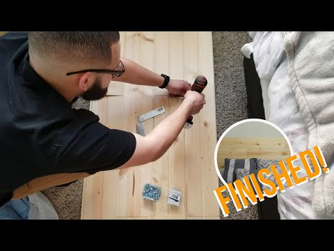 DIY Headboard  | VLOG