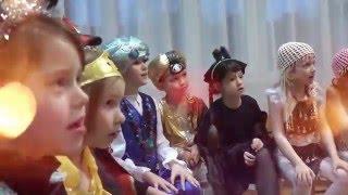 Детская Киноакадемия Новогодний клип январь 2016