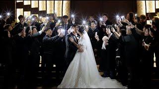 결혼식영상 안양 더그레이스켈리 본식dvd 부모님의 감동…