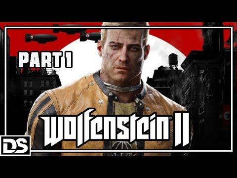 Wolfenstein 2 The New Colossus Gameplay - Lets Play Wolfenstein 2 The New Colossus Deutsch Walkthrough DerSorbus