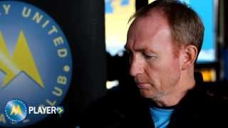 Gulls Player - Alan Knill on the FA Cup Vs Rochdale 07/11/13