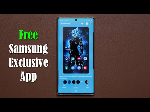 Download This Samsung Exclusive App - Create Your Own Theme!