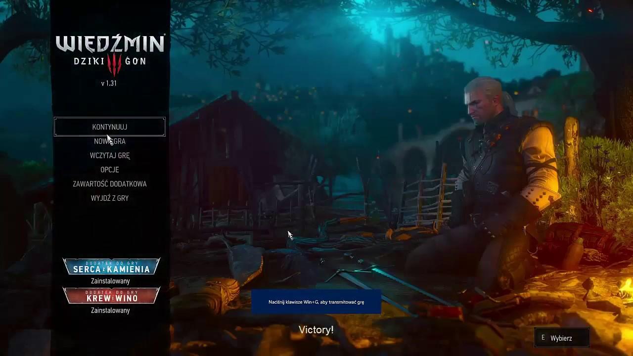 Witcher 3 GOTY v1 31 mods compilation error fix