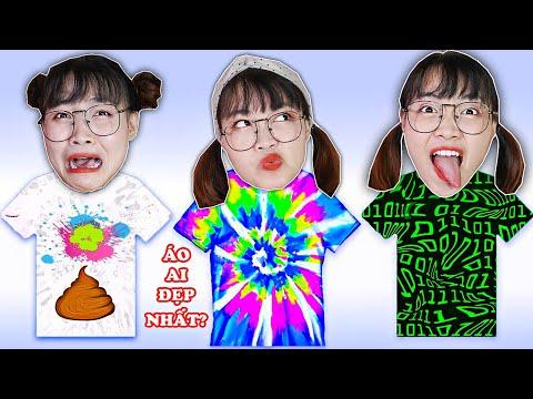 Hà Sam Vẽ Màu Nước Lên Áo Trắng Cho Các Bạn Cùng Trường - Tie Dye