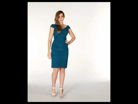 stunning-mother-of-the-bride-dress- -navy-blue-formal-dress