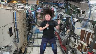 SPACE STATION CREW MEMBER DISCUSSES LIFE IN SPACE WITH HOUSTON MEDIA