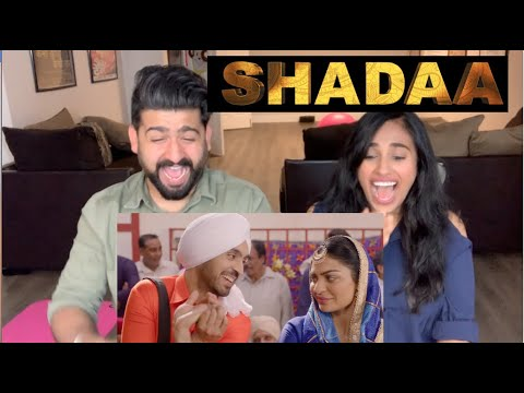 Shadaa Trailer Reaction | Diljit Dosanjh, Neeru Bajwa | RajDeepLive