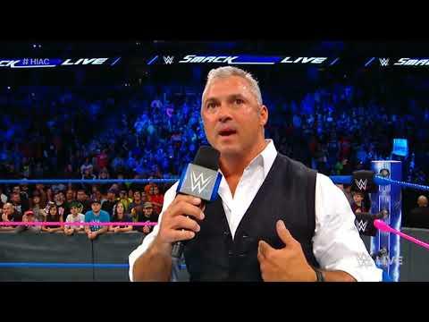 Shane McMahon and Kevin Owens brawl...