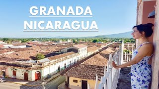 BACKPACKING NICARAGUA! ULTIMATE GRANADA TRAVEL GUIDE | FOOD TOUR | CULTURE, CATHEDRALS & TRADITIONS