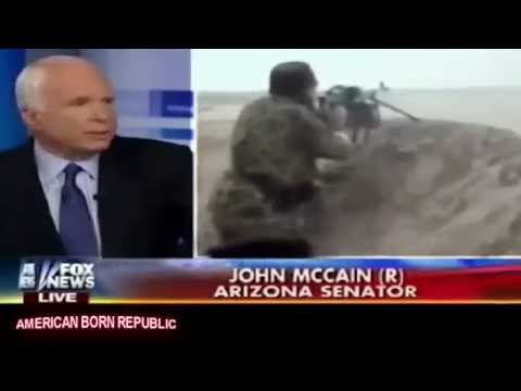 Sen John McCain Slips on Fox: Obama Didn't Want to Arm ISIS... BULL!