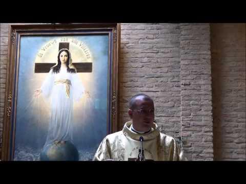 """""""Santa Messa celebrata da don Alessandro M. Minutella nella cappella della Signora di Tutti i Popoli"""