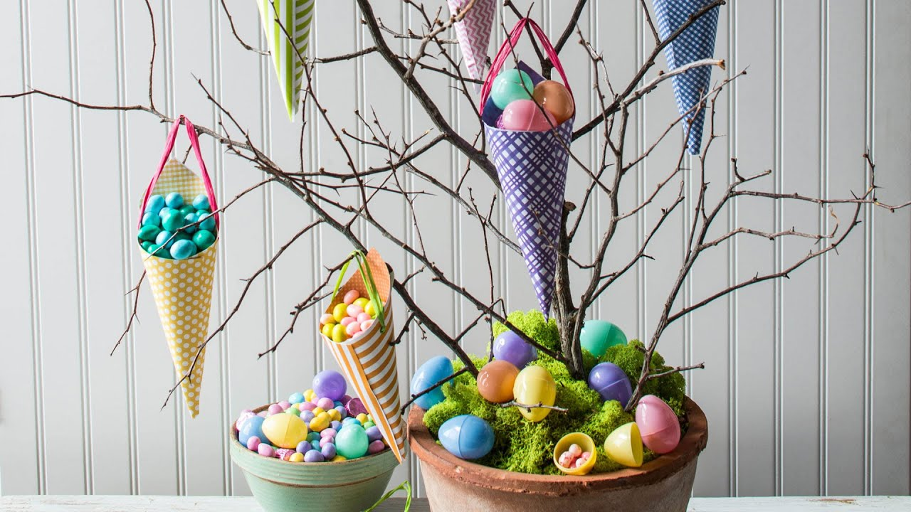 How To Make An Easter Candy Tree