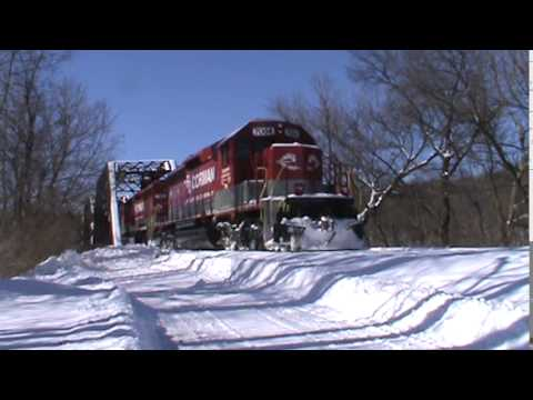 RJ Corman Railroad Lite Power Move at Clearfield PA