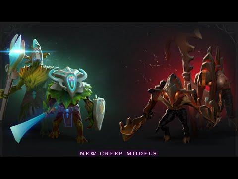 видео: new mega creeps in dota 2 [Новые мегакрипы]