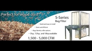 Nederman S Series Dust Collector