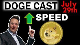 Elon Musk Pushing DOGECOIN to INCREASE Transaction SPEED!!!