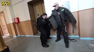 video americký policista navštívil své kolegy z Litvínova