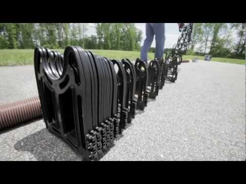 Sidewinder Rv Sewer Hose Support Youtube