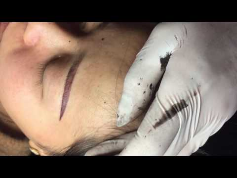 beautiful eyebrows   Microblading method by Everlasting Brows #4  Beauty Salon Stella