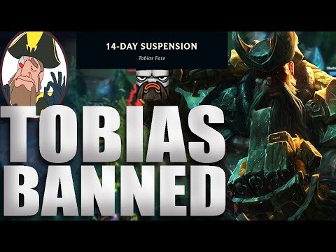 Tobias Fate Got BANNED FROM LEAGUE. WILL TRYHARD ANYWAY! | League of Legends