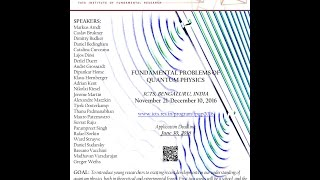 Optical simulations of problems in quantum cosmology by Daniele Faccio