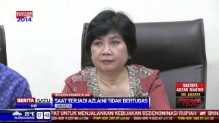 kasus penamparan wakil ketua ombudsman dibebastugaskan
