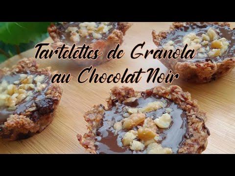 tartelettes-de-granola-au-chocolat-noir