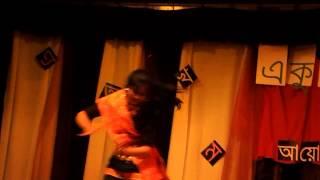 Dha dhina natina Danced by  Mayuri at BCEA Sadhinota dibosh program 2013