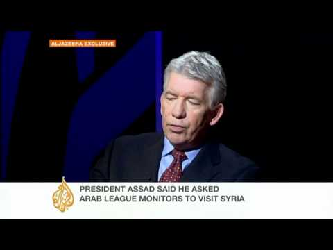Former Arab League observer speaks on Syria