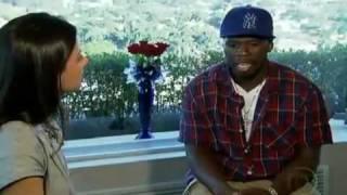 50 Cent em entrevista ao Jornal da Globo / 50 cent interview tour brazil