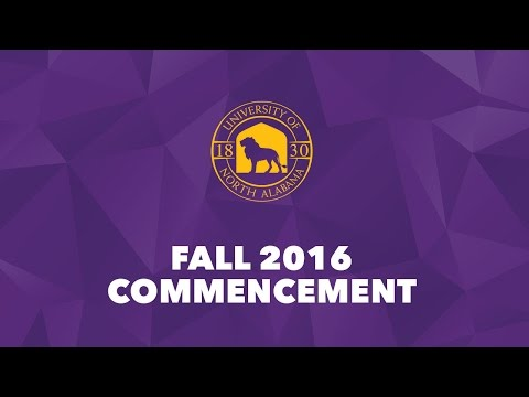 Fall 2016 Commencement - Ceremony 1