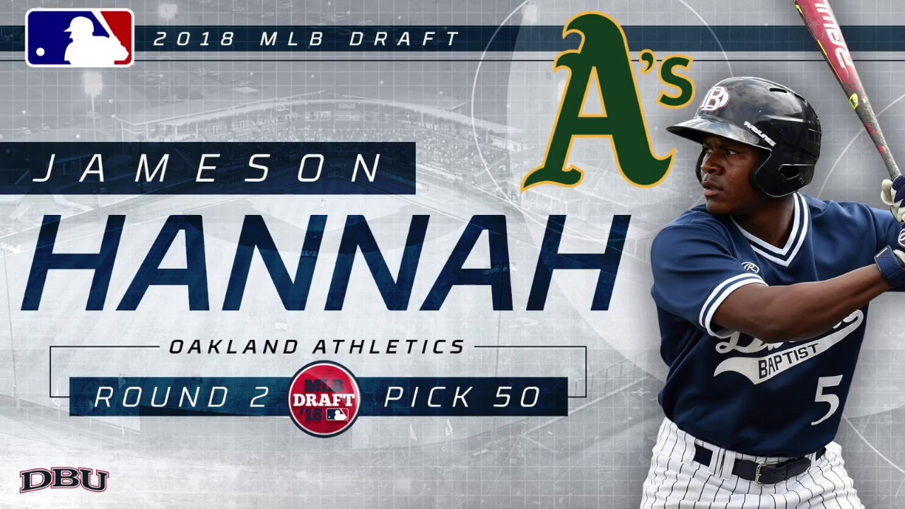 Jameson Hannah Highlights - 2nd Round Pick (Oakland Athletics)
