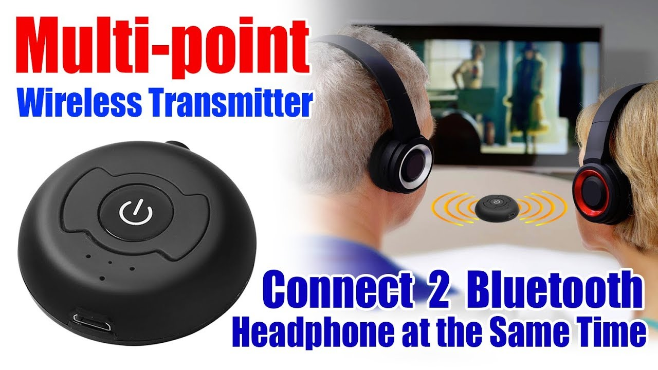 H 366t Bluetooth Transmitter I Multi Point Wireless Audio Bluetooth Transmitter Youtube