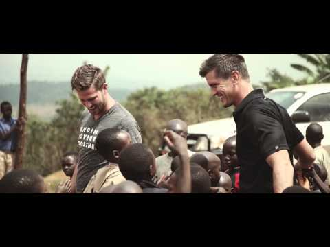 High Valley - In Burundi, Africa