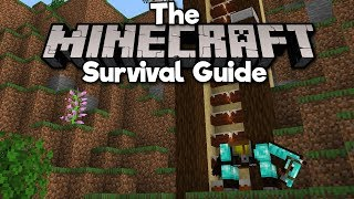 Super Fast Cake Staircase!  The Minecraft Survival Guide Part 203