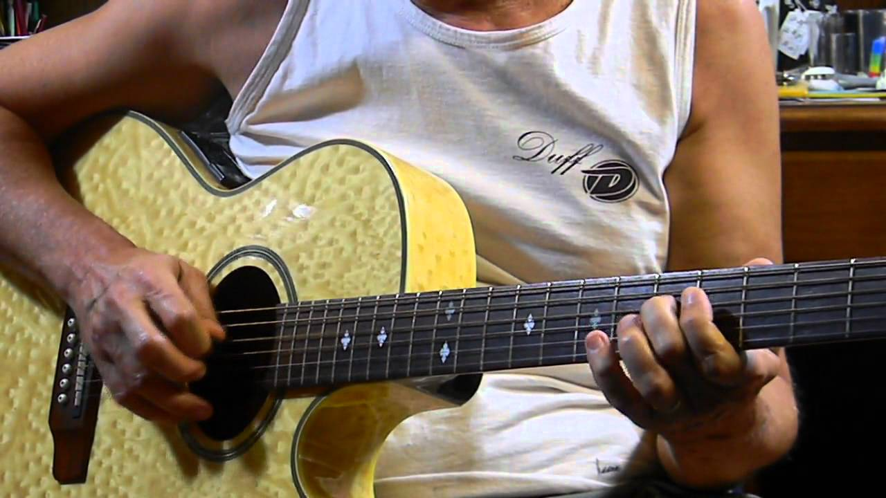 Easy E Blues Chords Riff How To Play Acoustic Blues Guitar In E