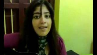 pakistani girl singing ..Luka Chupi Bohat Howi.. must listen cover song