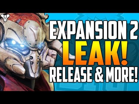Destiny 2 DLC LEAK - Cut Destiny 1 Content?  !! - Early Release Date? - The FALLEN WARMIND