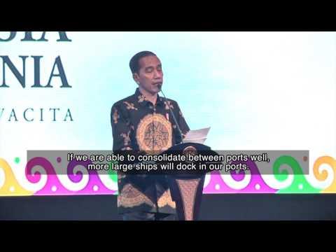 Jokowi Urges More Efforts to Boost Maritime Developments