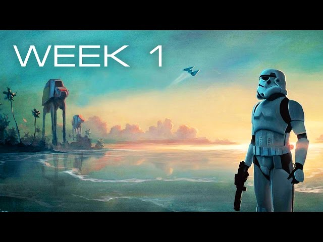 Building Scarif in LEGO – Week 1: Preparing