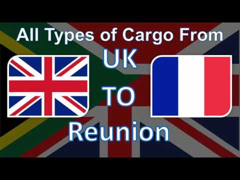 The Best Cargo and Parcel Shipping Services from UK to Reunion at the most Affordable Prices