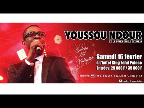 Youssou NDOUR - ST VALENTIN (Nouveau single)