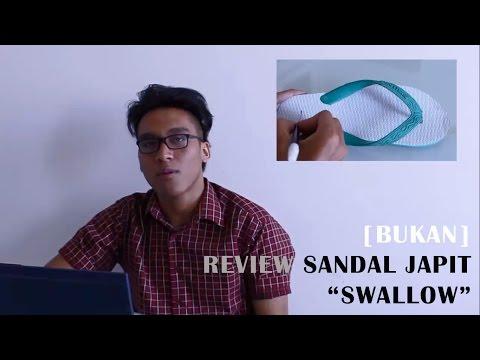 """[Bukan] Review Sandal Jepit """"Swallow"""""""