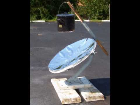 Using solar to cook: DIY solar oven