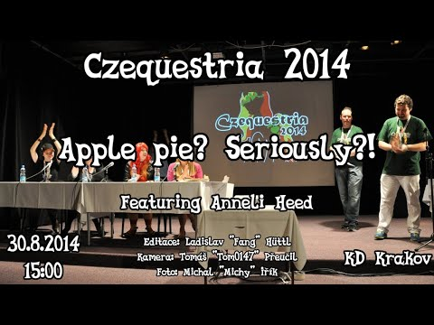 Apple Pie? Seriously?!<br />(Anneli Heed panel)
