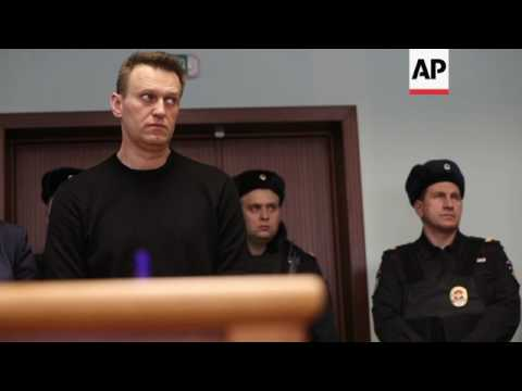Court rejects appeal by Russia opposition leader